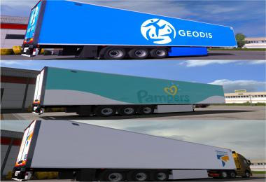 Pack 3 Skins For  Trailer Lamberet SR2 v4.0 - ETS2 1.34.x
