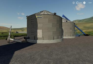 Placeable Grain Silo system v1.0.0.0
