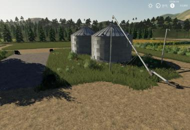 Placeable Grain Silo system v1.1