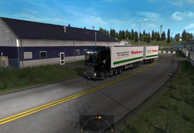 Raben Group standart Trailer Skin Pack 1.34