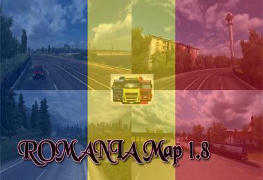 ROMANIA Map v1.8
