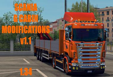 Scania G Modifications v1.1 1.34 Fix