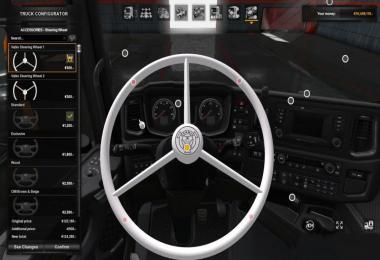 Scania Next Gen Vabis Steering Wheel 1.34.x