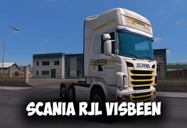 Scania RJL Visbeen Skin 1.34