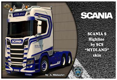 SCANIA S Highline MYDLAND 1.34