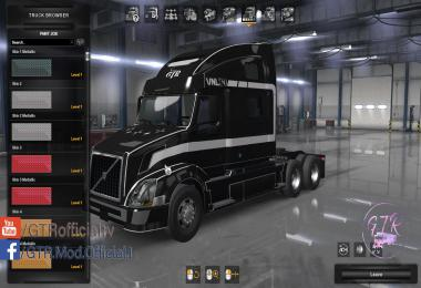 Skin Pack for Volvo VNL Standard Trailers v1.0
