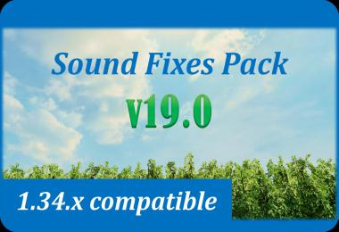 Sound Fixes Pack v19.0 - ETS2 for v1.34.x