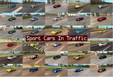 Sport Cars Traffic Pack by TrafficManiac v3.1
