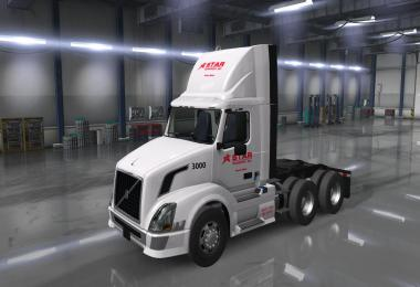 Star Transport Inc. Skins for SCS trucks v2.0