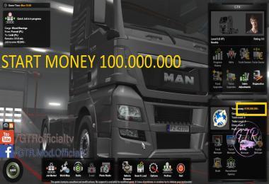 Start Money 100.000.000$ 1.34