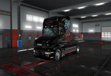 The Griffin Skin for RJL Scania T v1.1