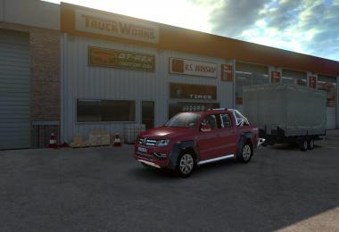 Volkswagen Amarok for ATS v1.1