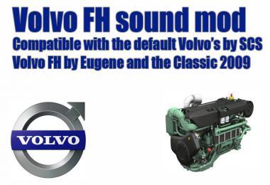 Volvo FH sound mod update 20-2-19 1.34