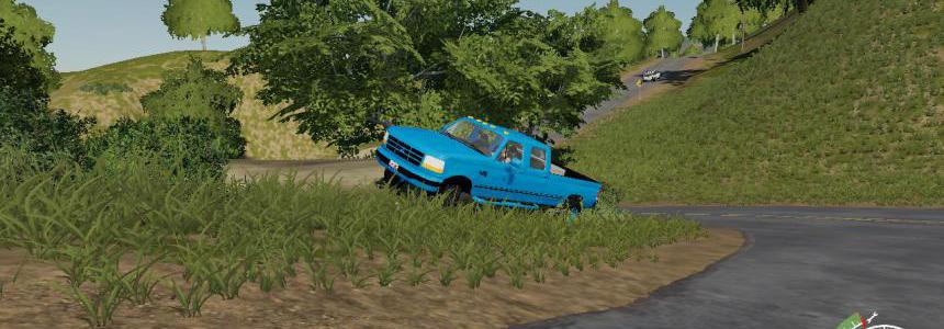 1996 f350 light blue v1.0.0.0