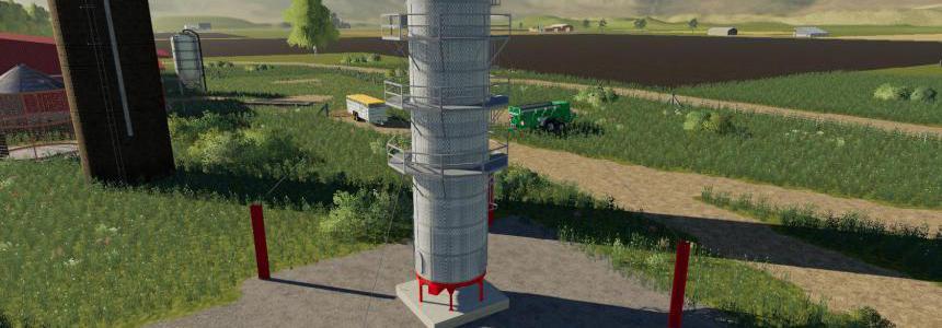 Placeable grain dryer extension v1.0