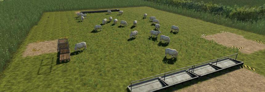 Placeable open range sheep pasture v1.0