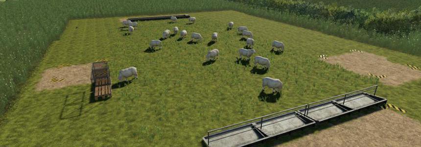 Placeable open range sheep pasture v1.0