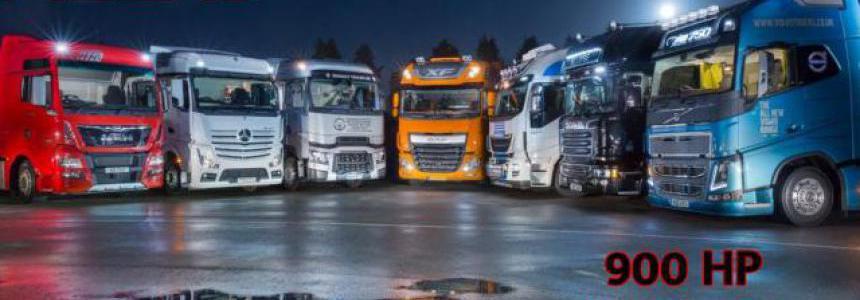 ALEXD 900 HP For All Trucks v1.3