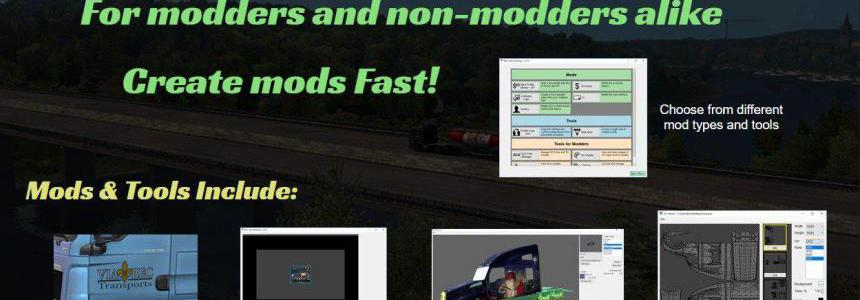 Ben's Easy Modding for ATS and ETS2 v1 0 1 5 - Modhub us