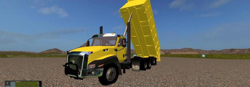 Cat ct660 dump truck v1.0.0.3