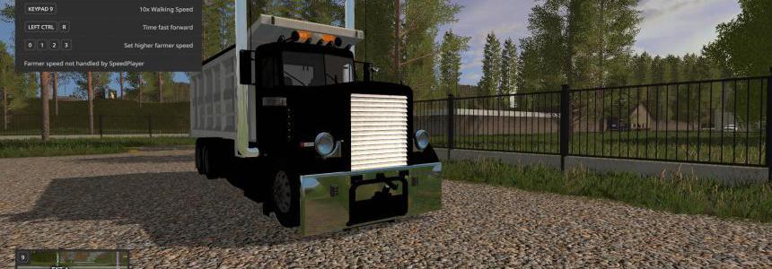 Custom peterbilt dump truck and matching pup trailer v1.0.0.3