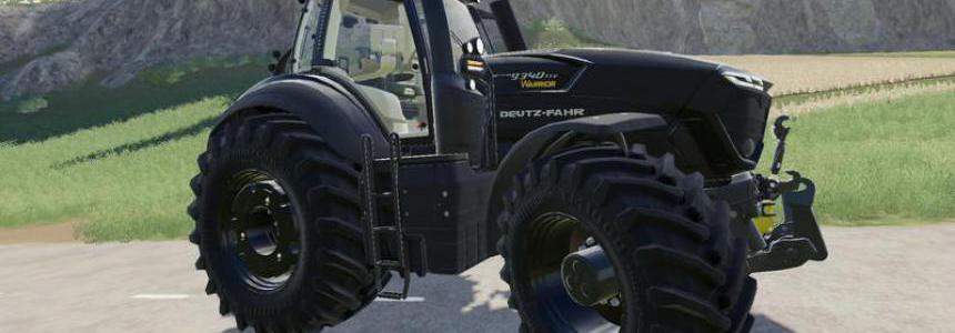 Deutz Fahr 9340 TTV Warrior v1.0