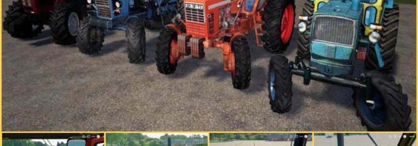 Domestic tractors Rus Paсk v1.0