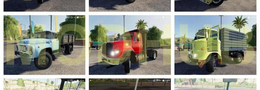 Dump trucks Pack v1.0