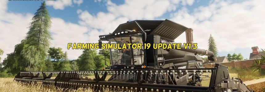 Farming Simulator 19 Update v1.3