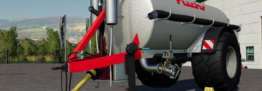 [FBM] Liquid manure set galvanized 9000 liters v2.0
