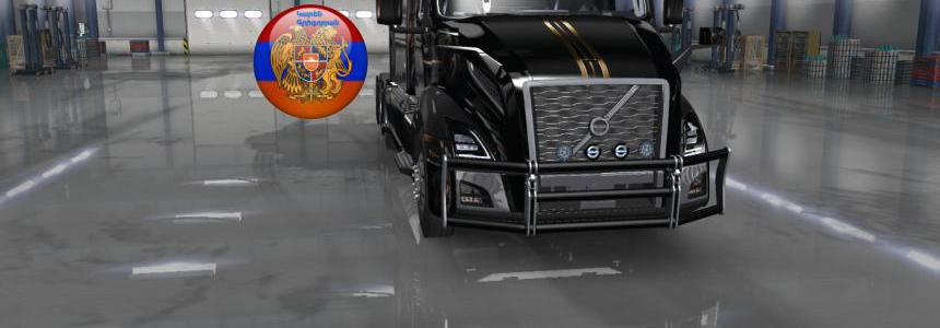 Frontgrill for volvo VNL 2018 1.34.x