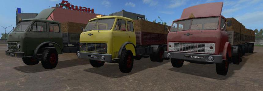 FS17 MAZ-514 FIX GEAR BOX v1.1.1