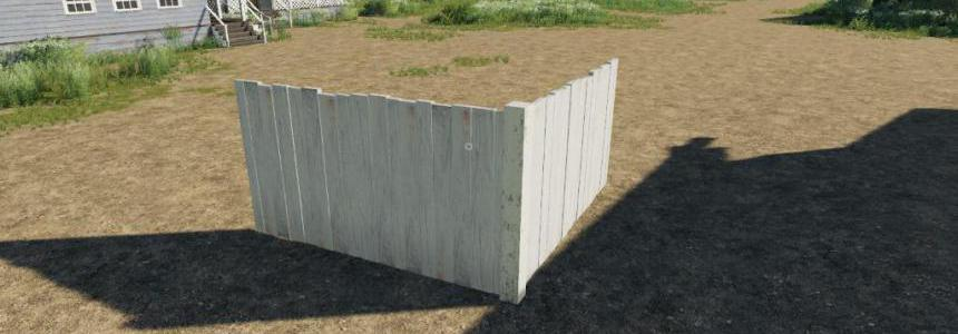 FS19 WoodenFences Placeable v1.0