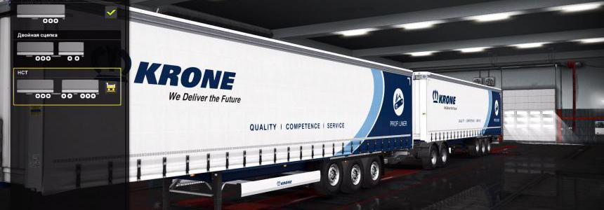Krone in ownership Works at Truckers MP 1.34.x
