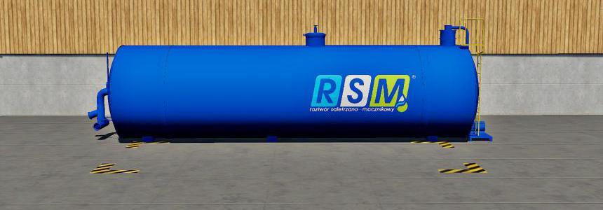 PLACEABLE Buy RSM liquid Fertilizer Tank v1.0