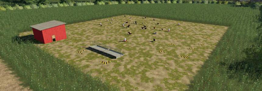 Placeable Free Range Chickens v1.0