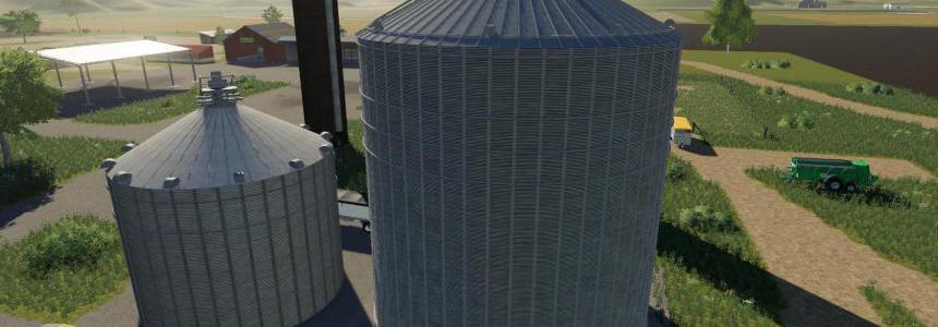 Placeable large grain bin extension v1.0
