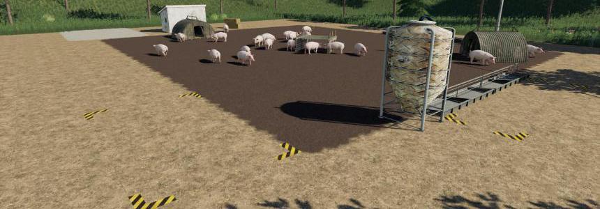 Placeable open Pig Area v1.0
