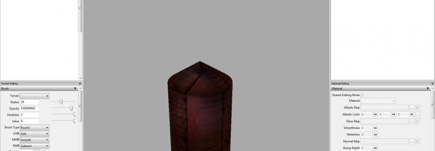 Prefab red steel silo v1.0