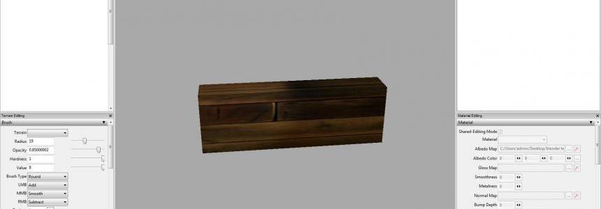 Prefab wood bunker wall v1.0