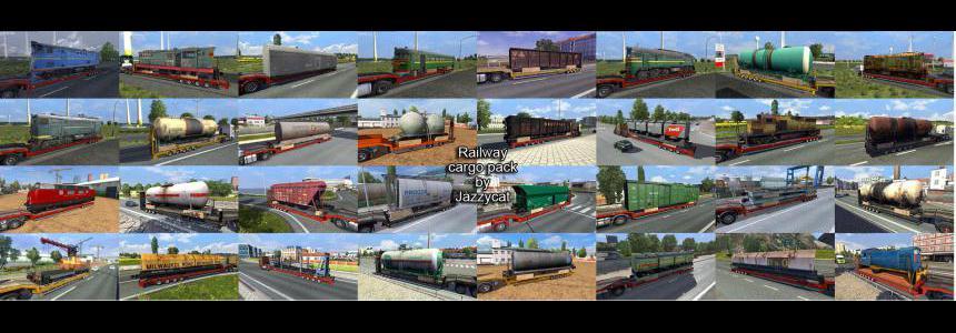Railway Cargo Pack by Jazzycat v1.9