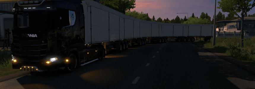 Road Train with default Trailers