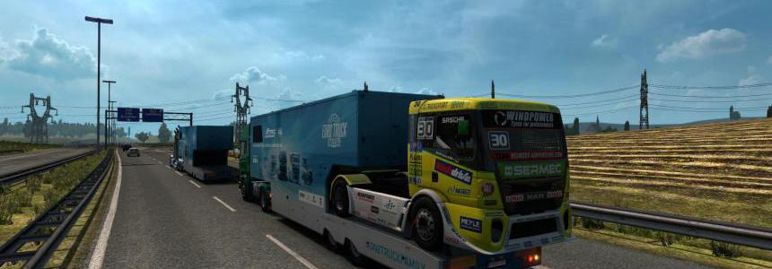 SCS ETRC trailers in AI traffic 1.34