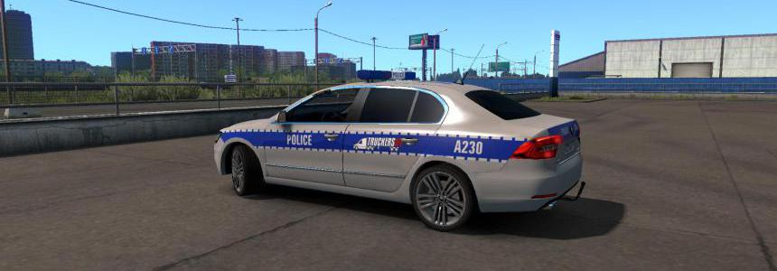 Skoda Superb Police 1.34