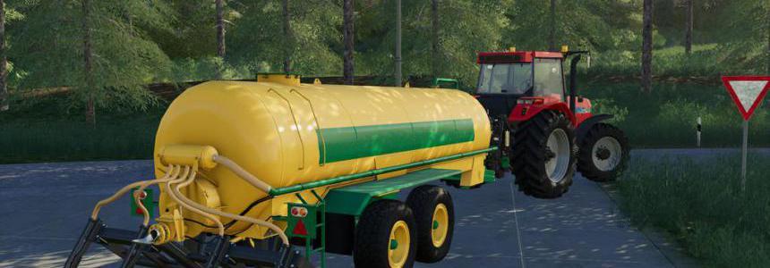 Slurry Tanker 14 with injector v1.0.0.0