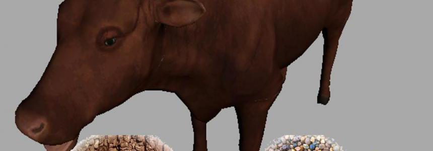 Vache marguerite marron v1.0