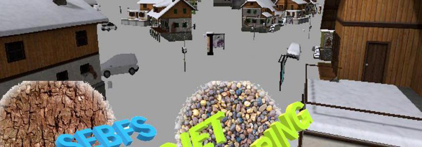 Village maison enneiger v1.0
