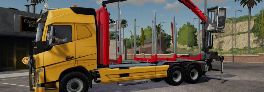 Volvo FH16 750 wood v1.7.0.0