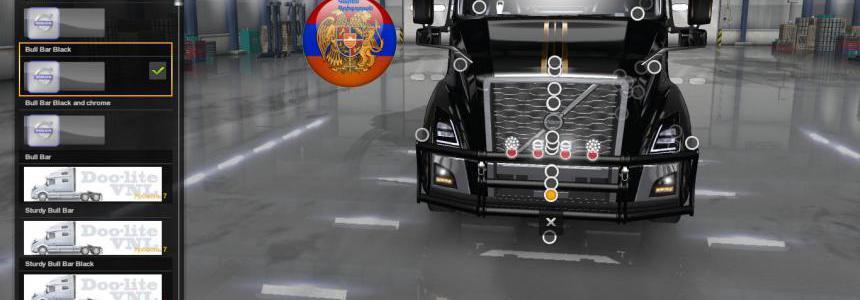 Volvo vnl 2018 Truck Three new frontgrill 1.34.x