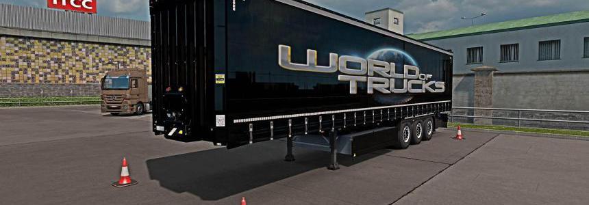 World of Trucks Krone PROFI LINER Owned Trailer 1.34.x